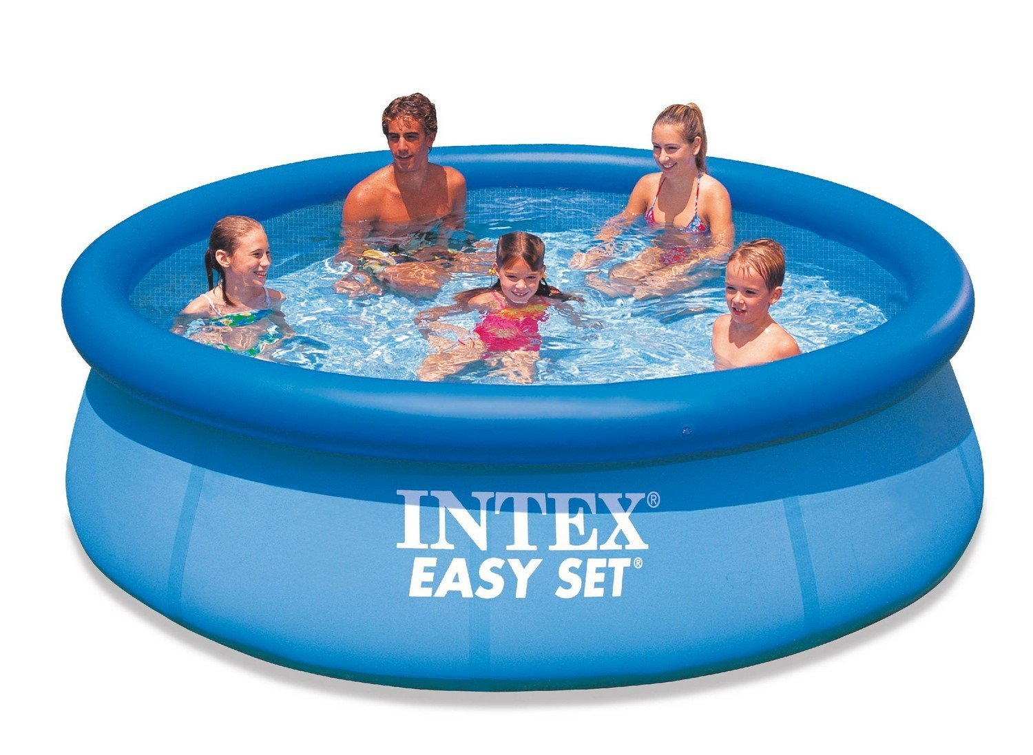 28120 intex 10 ft easy set pool 10 39 x 30 Intex swim center family pool cover