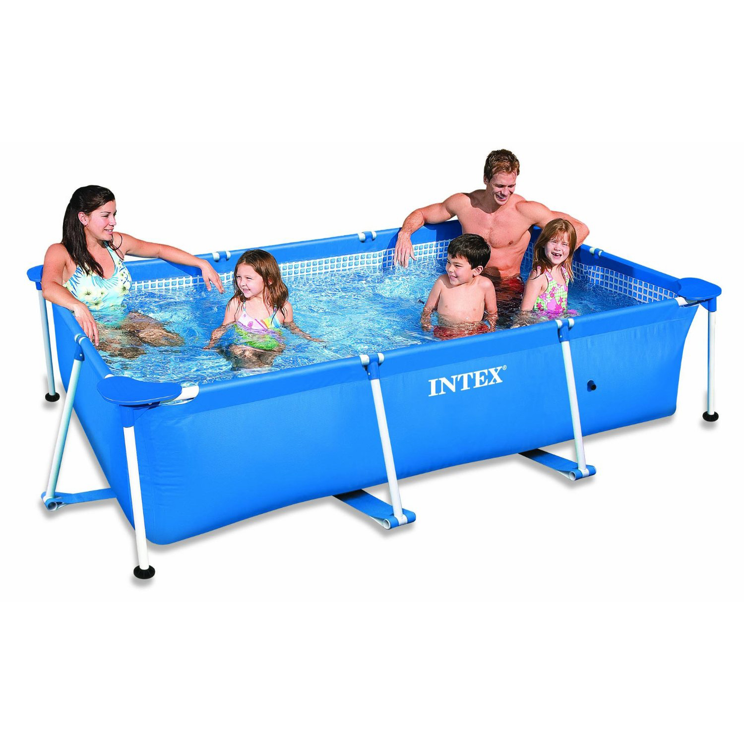 28270 intex small frame rectangular pool x x 0 for Garten pool 2 5m