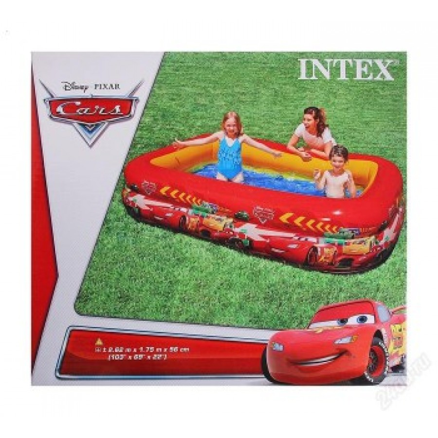 57478 intex cars swim center pool 103 39 39 l x 69 39 39 w x Intex swim center family pool cover